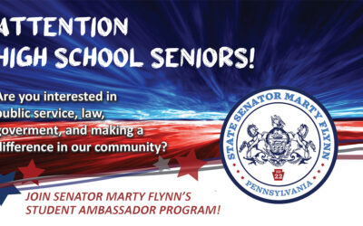 Senator Flynn's Student Ambassador Program Now Accepting Applications